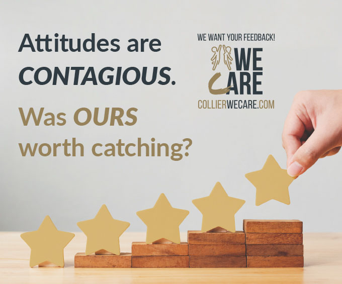 Attitudes are contagious. Was our worth catching? Give us your honest opinion.